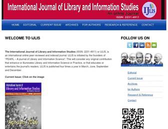ijlis.org screenshot