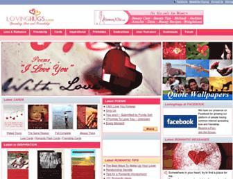 lovinghugs.com screenshot