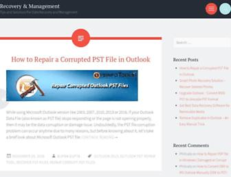 recoveryandmanagement.com screenshot