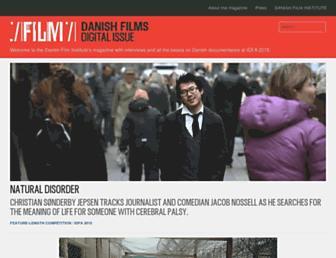 dfi-film.dk screenshot