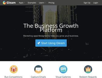 Thumbshot of Gleam.io