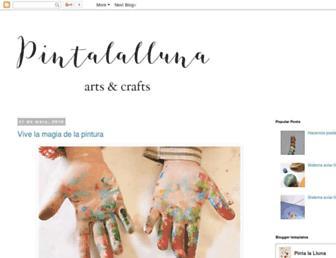 pintalaluna.blogspot.com screenshot