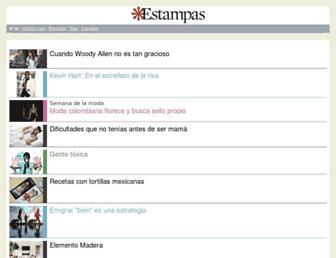 m.estampas.com screenshot