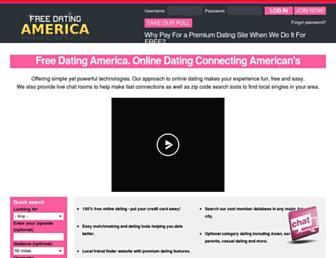 freedatingamerica.com screenshot