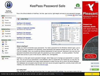 Thumbshot of Keepass.info
