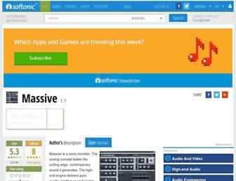 massive.en.softonic.com screenshot