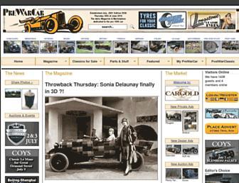 prewarcar.com screenshot