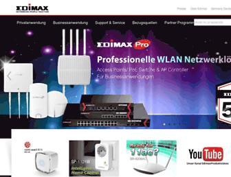 edimax-de.eu screenshot