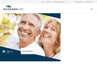 bankerslife.com screenshot