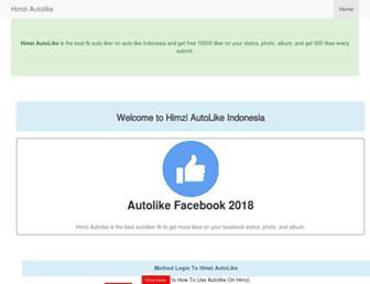 himziautolike.info screenshot