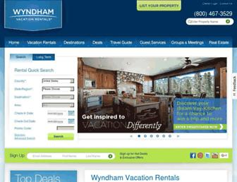 Thumbshot of Wyndhamvacationrentals.com