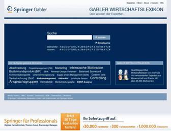 wirtschaftslexikon.gabler.de screenshot