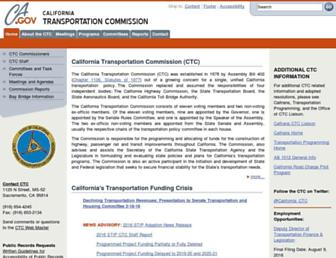 catc.ca.gov screenshot