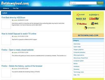 tips.betdownload.com screenshot