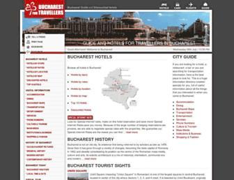 bucharest-for-travellers.com screenshot
