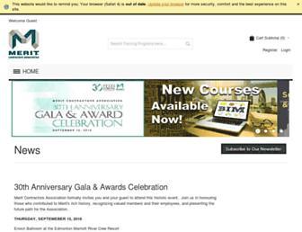 meritalberta.com screenshot