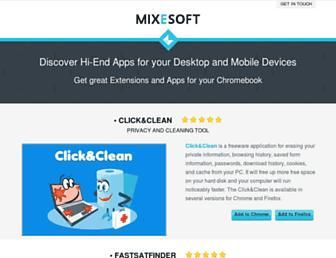 mixesoft.com screenshot