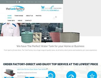 watertankfactory.com.au screenshot