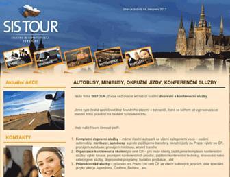 sistour.cz screenshot