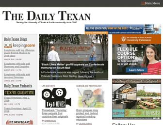dailytexanonline.com screenshot