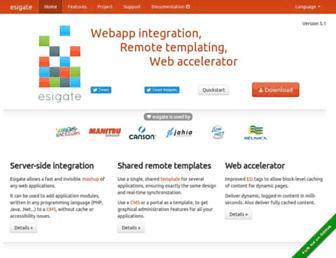 esigate.org screenshot