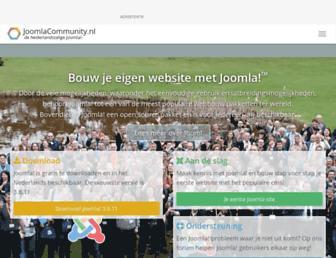 joomlacommunity.nl screenshot
