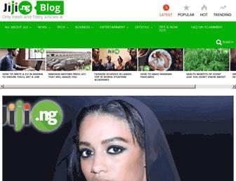 blog.jiji.ng screenshot