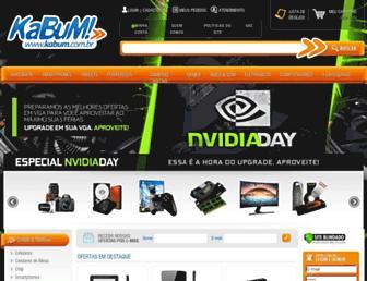 kabum.com.br screenshot