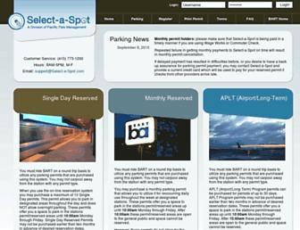 Thumbshot of Select-a-spot.com