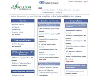 skillgun.com screenshot
