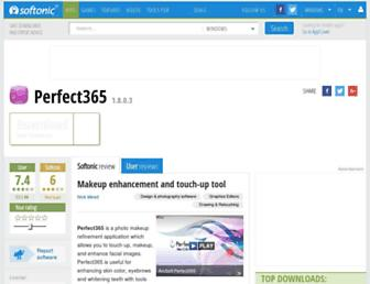 perfect365.en.softonic.com screenshot