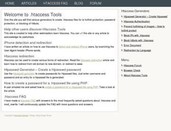 Thumbshot of Htaccesstools.com