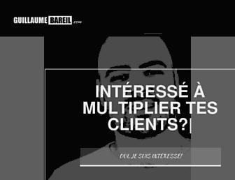 guillaumebareil.com screenshot