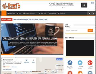 duwiarsana.com screenshot