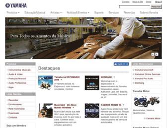 br.yamaha.com screenshot