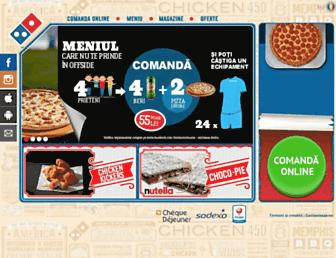 dominos-pizza.ro screenshot