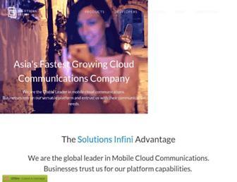 solutionsinfini.com screenshot