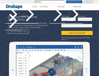 onshape.com screenshot