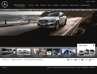 Thumbshot of Mercedes-benz.com.au