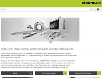 heidenhain.com screenshot