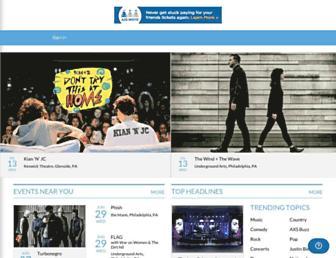 axs.com screenshot