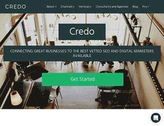 getcredo.com screenshot