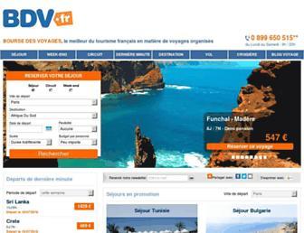 bourse-des-voyages.com screenshot