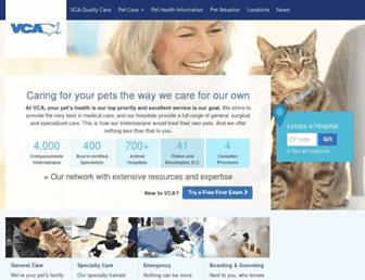 Thumbshot of Vcahospitals.com