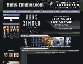 hans-zimmer.com screenshot