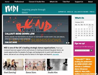 mdi.org.uk screenshot