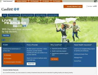 Thumbshot of Carefirst.com