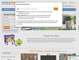 puzzlewarehouse.com screenshot