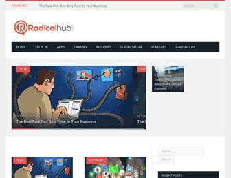 radicalhub.com screenshot