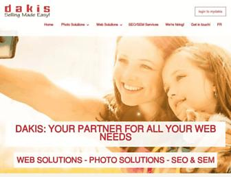 en.dakis.com screenshot